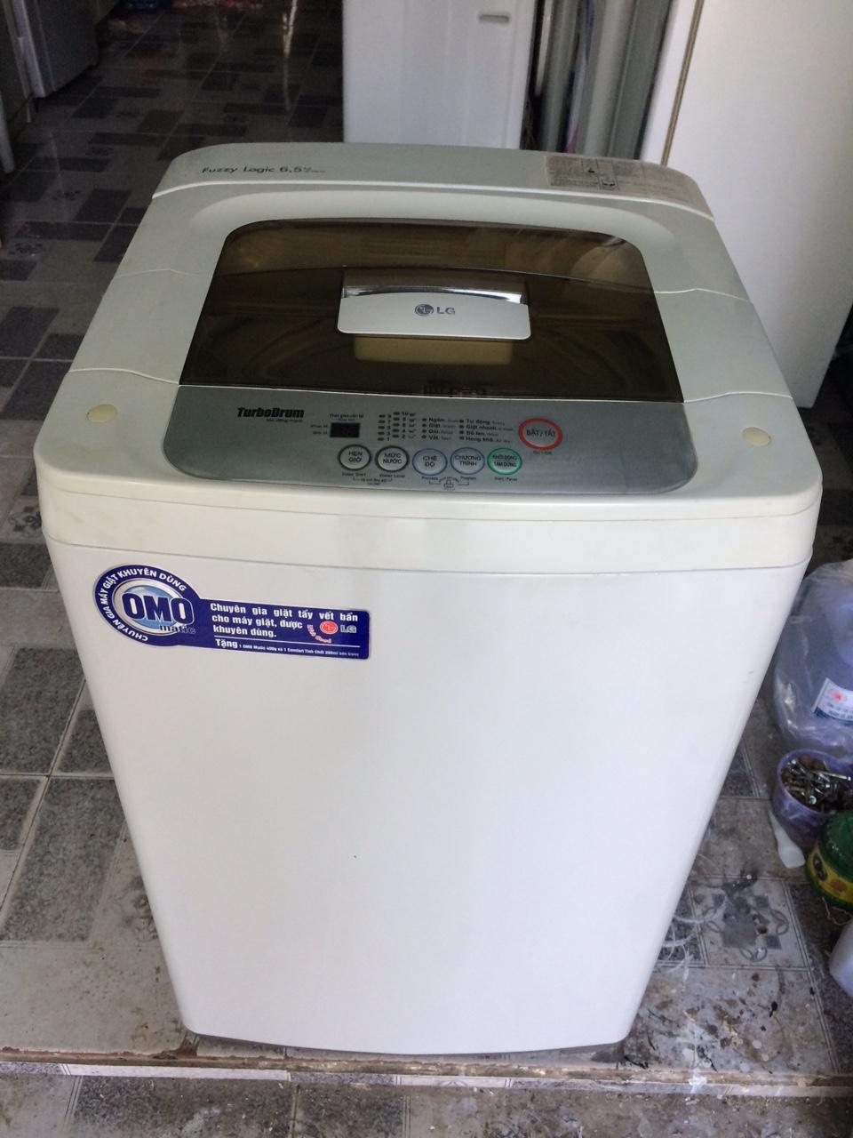 Máy giặt LG 6,5 kg lòng inox không rỉ mới 90%