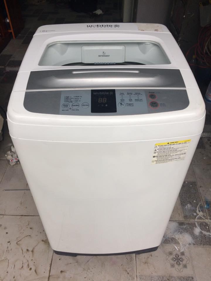 Máy giặt Samsung 7,8kg lòng inox không rỉ mới 95%