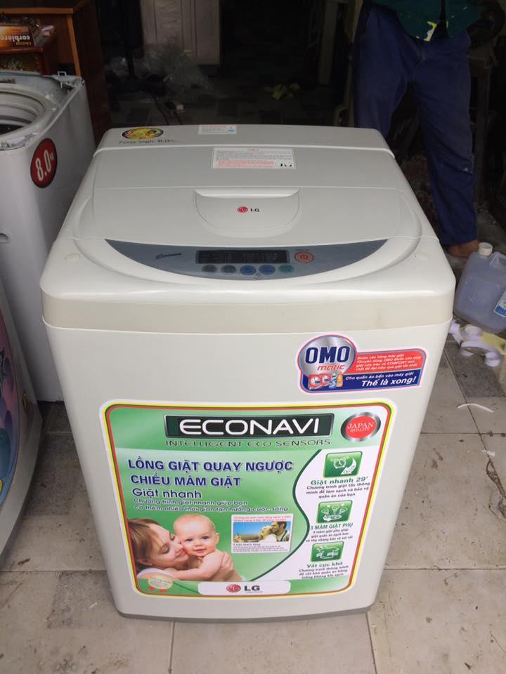 Máy giặt Lg WF-F6012 6kg lòng inox không rỉ