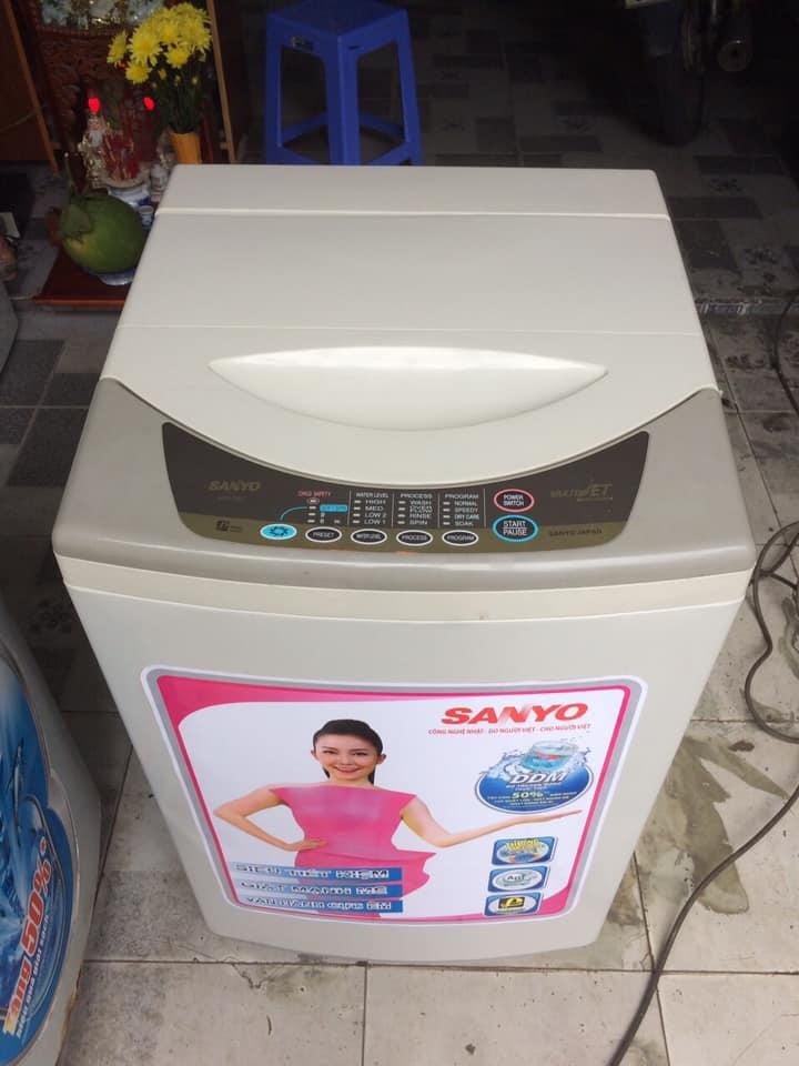 Máy giặt Sanyo (6.5 kg) lòng inox không rỉ