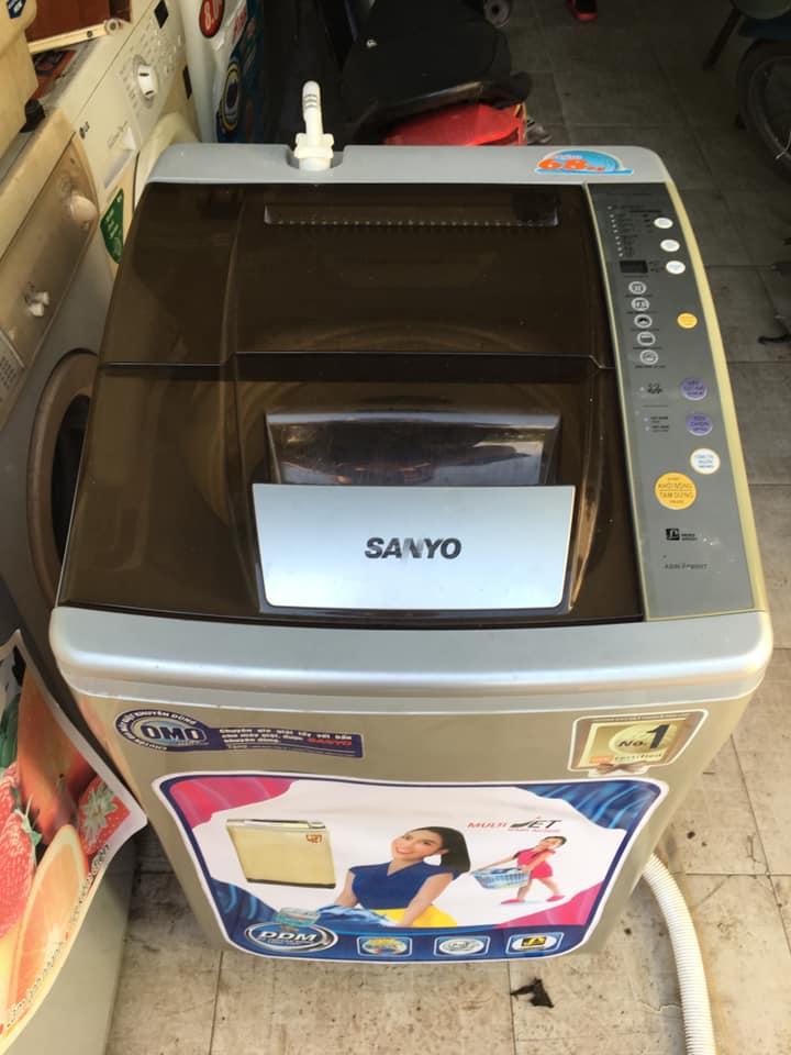 Máy giặt Sanyo (6.8kg) lồng nghiêng