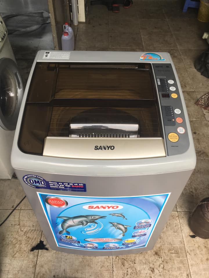 Máy giặt Sanyo (7.2kg) Asw-F72HT
