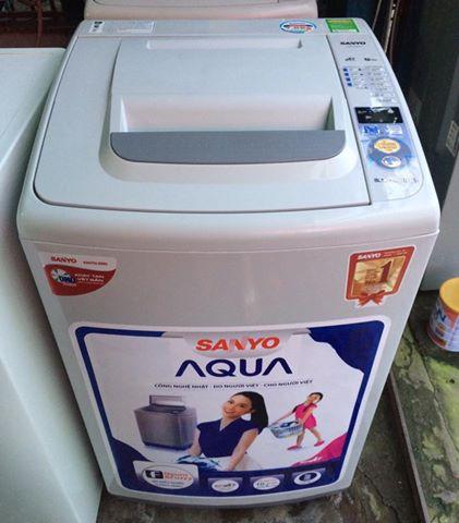 Máy giặt Sanyo 7kg lòng inox không rĩ