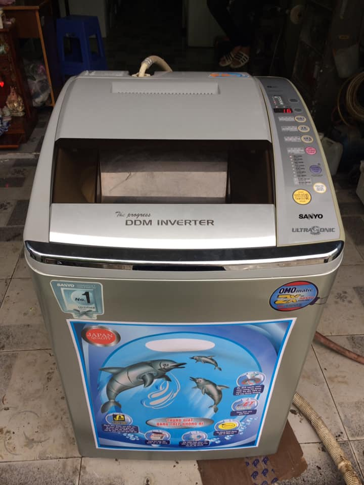 Máy giặt Sanyo Asw-D900HT Inverter (9kg)
