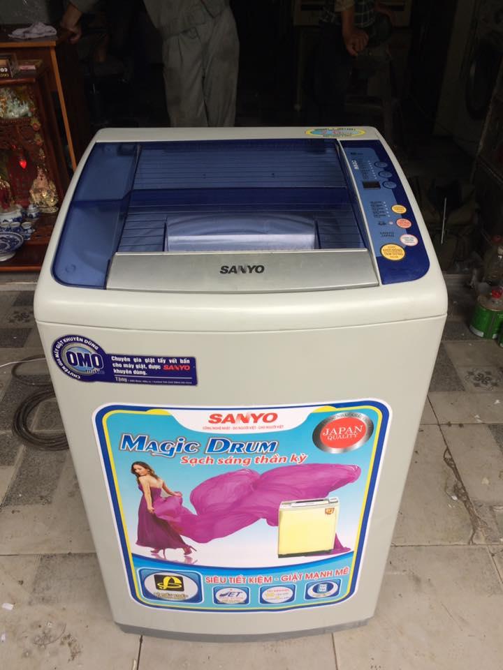 Máy giặt Sanyo ASW-F100AT 7kg mới 95%
