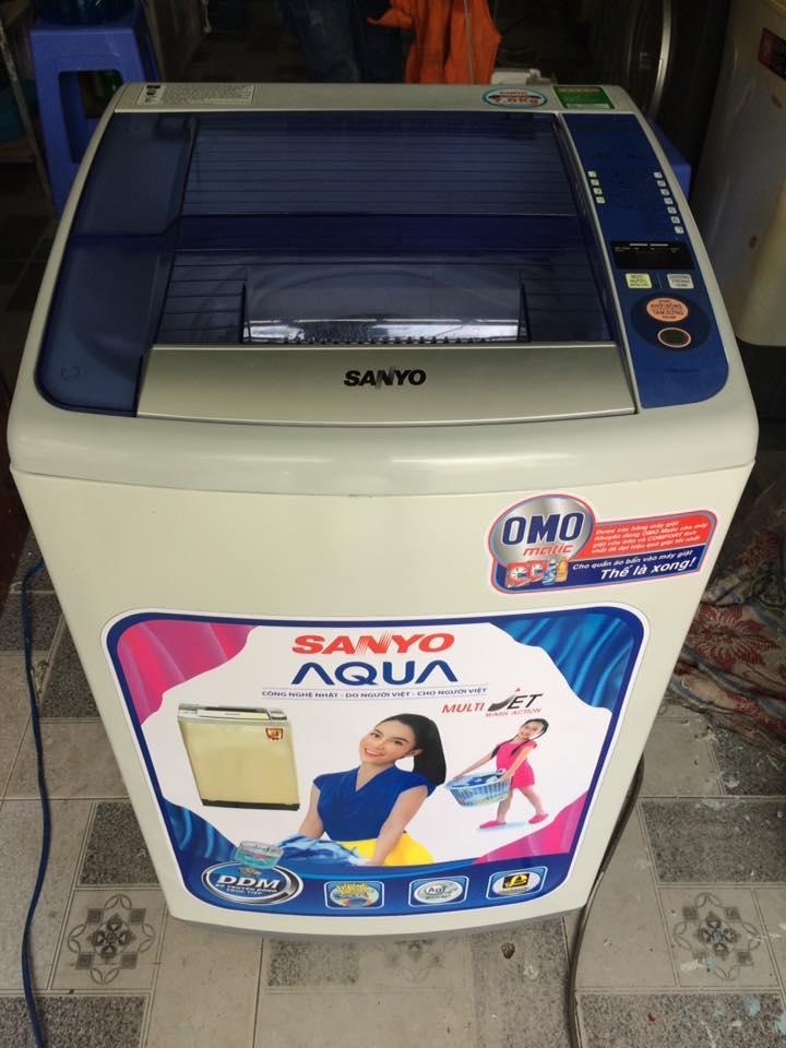 Máy giặt Sanyo ASW-S70V1T 7kg mới 90%