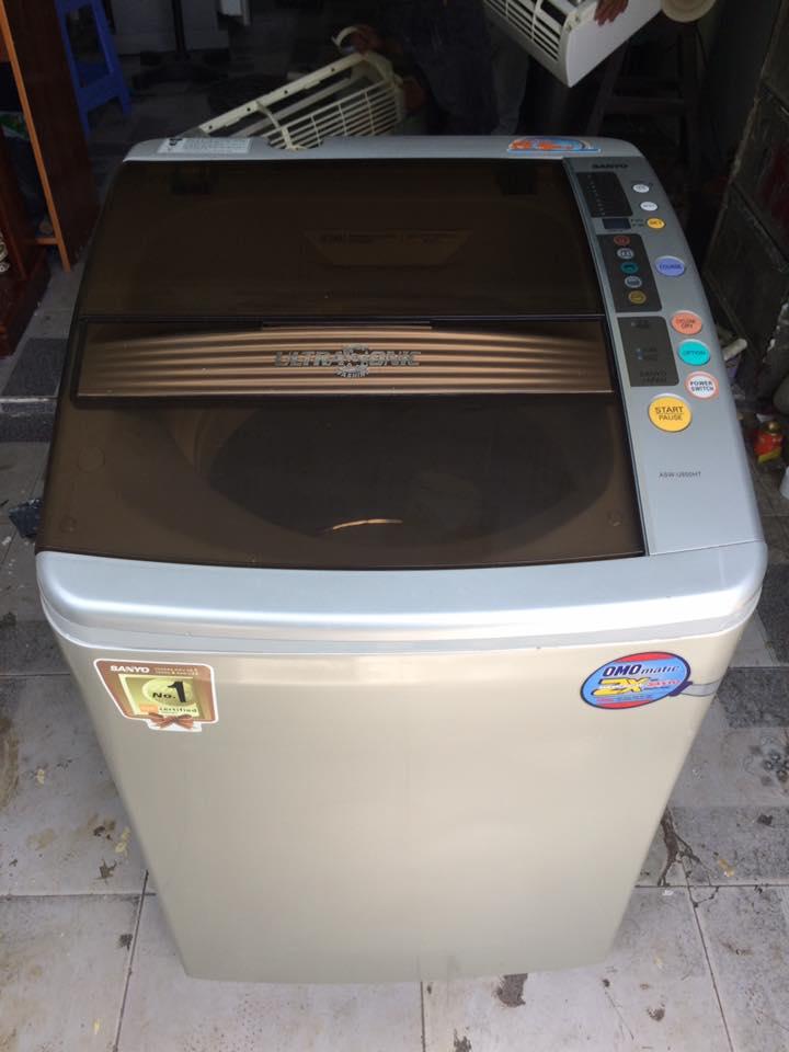 Máy giặt Sanyo ASW-U850HT 8.5kg lồng nghiêng