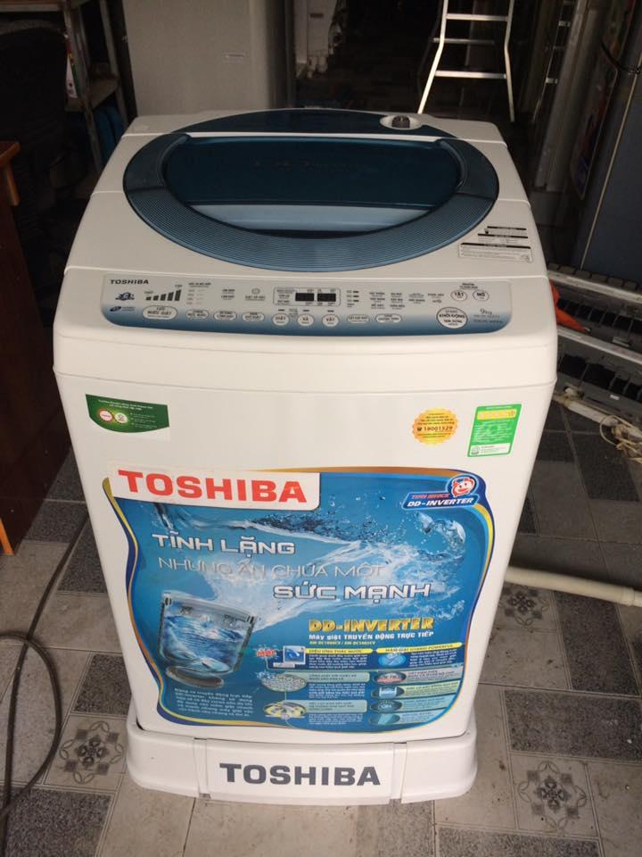 Máy giặt Toshiba Aw-DC1000CV Inverter 9kg mới 98%