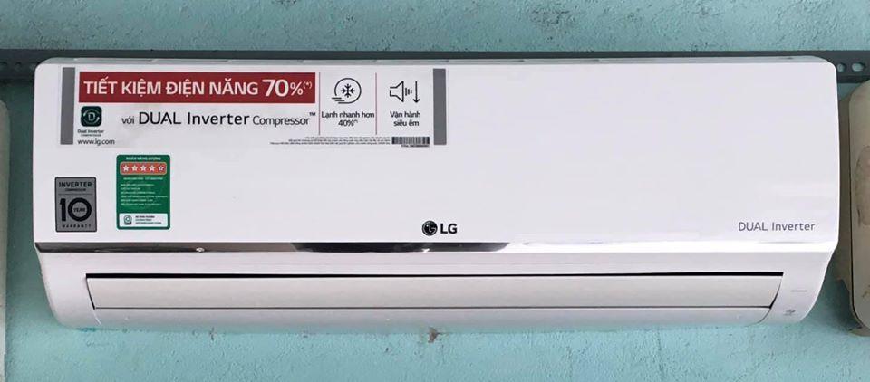 Máy lạnh LG (1HP) inverter tiết kiệm điện mới 97%