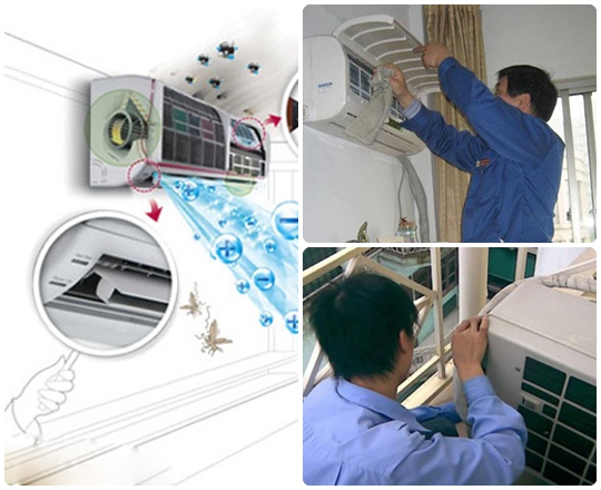 Tháo ráp máy lạnh quận tân phú -Điện Lạnh Ánh Dương