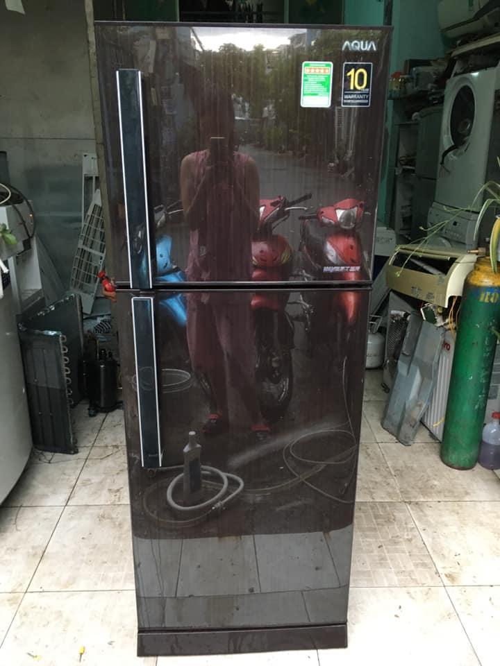 Tủ lạnh Aqua (186 lít) inverter tiết kiệm điện mới 98%