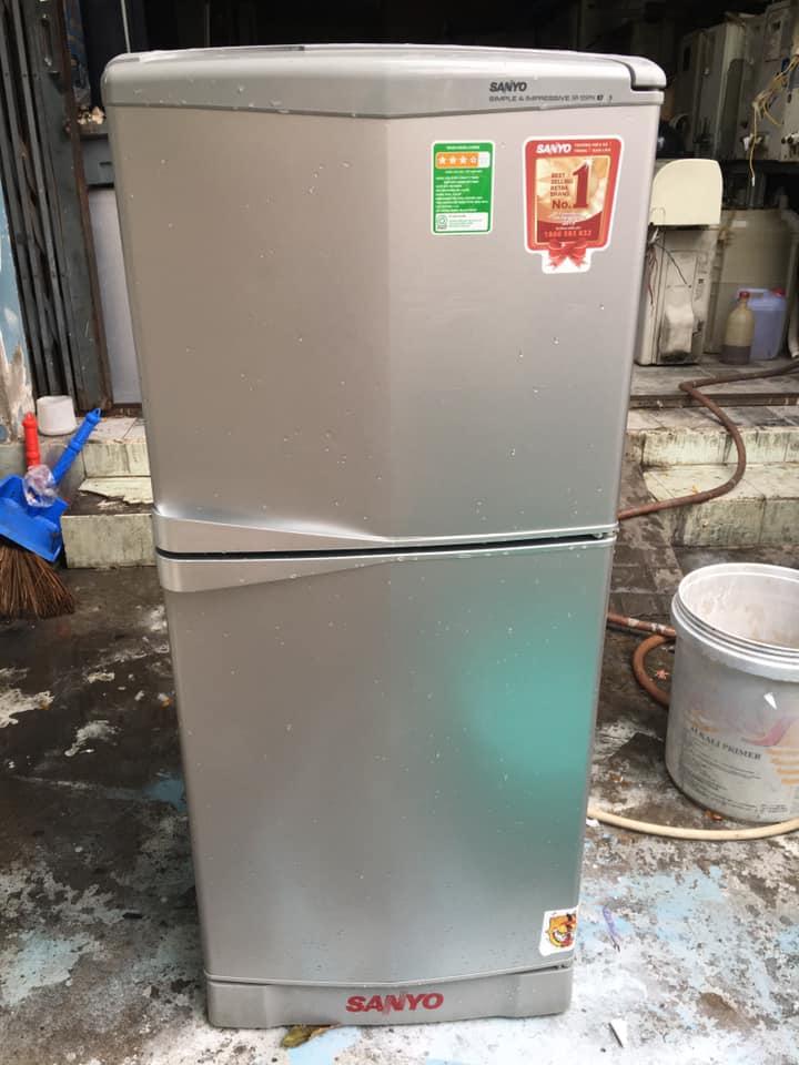 Tủ lạnh Sanyo (123 lít) không đóng tuyết