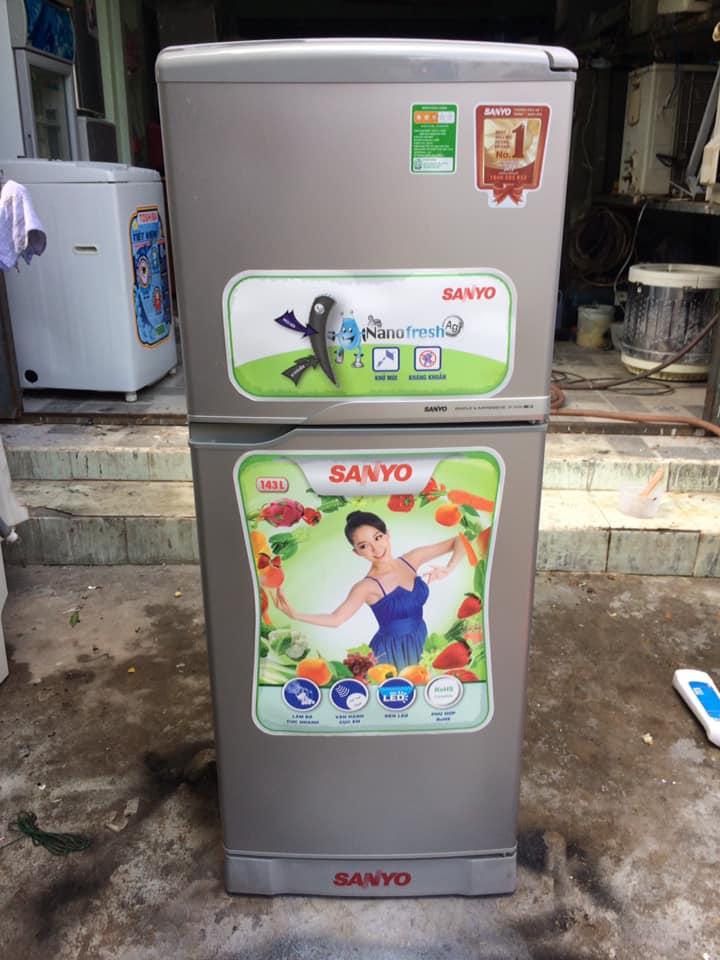 Tủ lạnh Sanyo SR-145RN (143 lít) k đóng tuyết